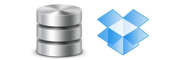 database to dropbox