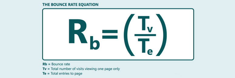 bounce rate equation
