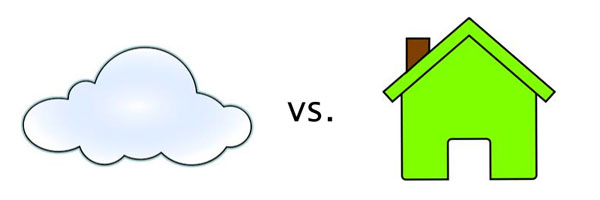 local vs cloud