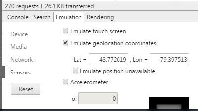 Spoofing Geolocation In Chrome