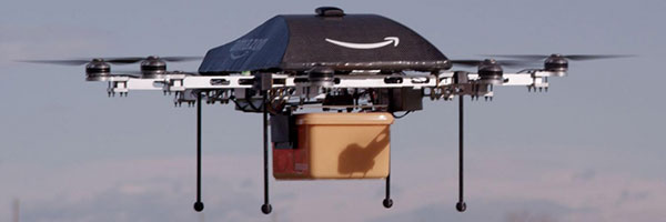Amazon's Octocopter For AmazonPrime Air