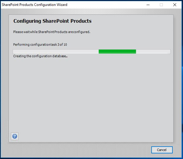 Configuring SharePoint Products