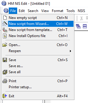 HM NIS Edit - New Script From Wizard (NSIS)