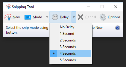 Screenshots In Windows 10 (Snipping Tool Delay)