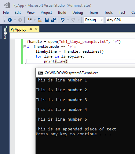Reading Text Files Line By Line In Python