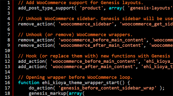 Code Snippets To Integrate WooCommerce With The Genesis Framework