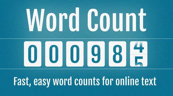 Online Word Counter With Full Source Code