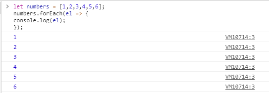 Iterating an array with foreach